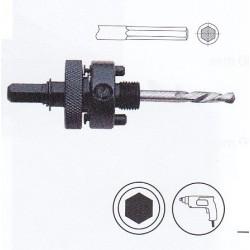 Mandrin pour trépan HSS bi-métal