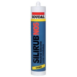 silicone  SOUDAL blanc