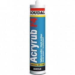 Mastic acrylique blanc F4 SOUDAL